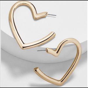 BAUBLEBAR Brianna Heart Earrings.